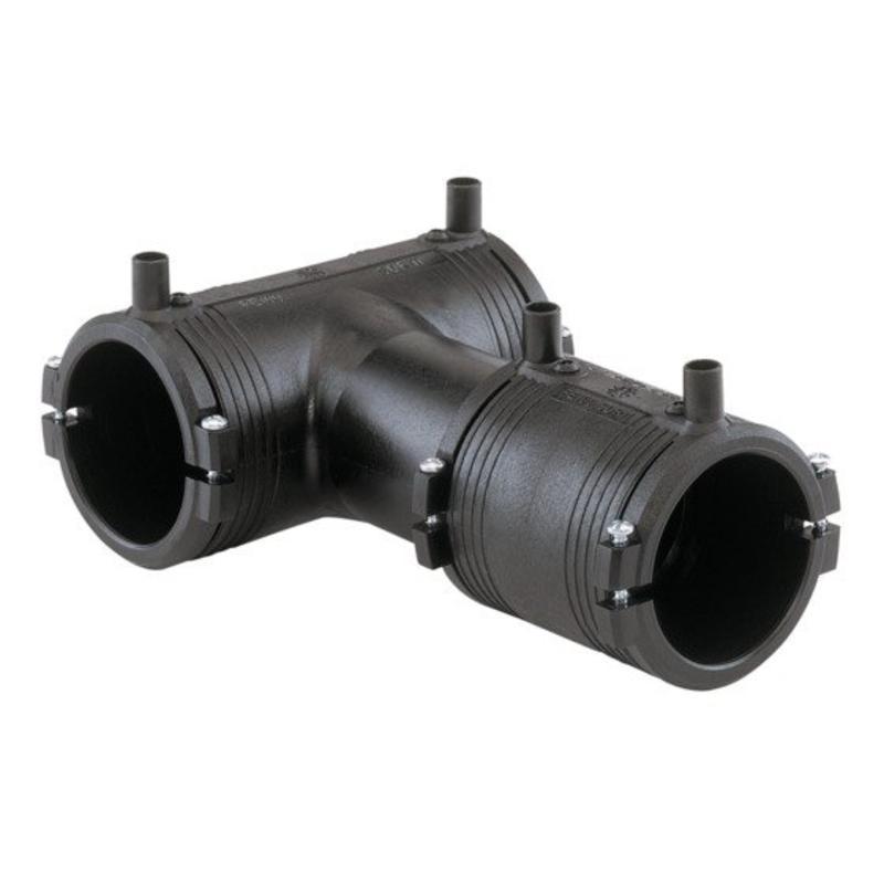 GF ELGEF elektrolas T-stuk 90° lasbare aftakking | 160 mm / 110 mm