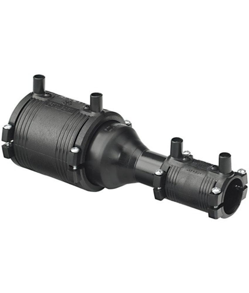 GF ELGEF elektrolas verloopstuk (kit) | 90 mm / 75 mm