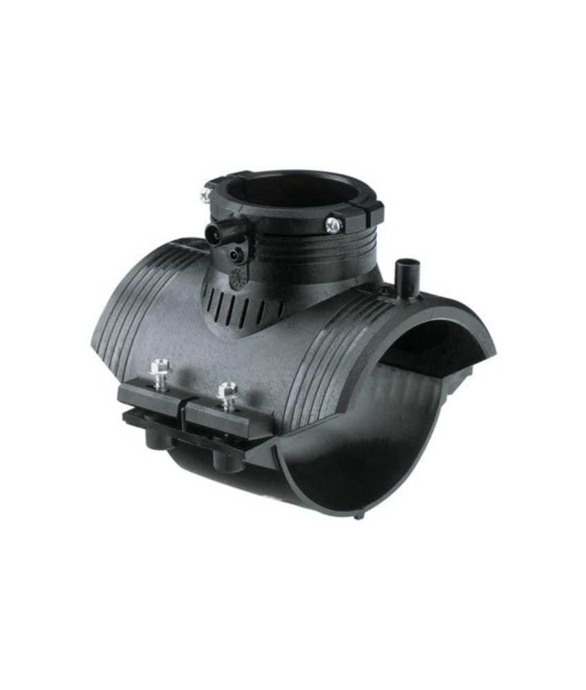 GF ELGEF elektrolas aansluitzadel 125 mm | PE hulpstuk
