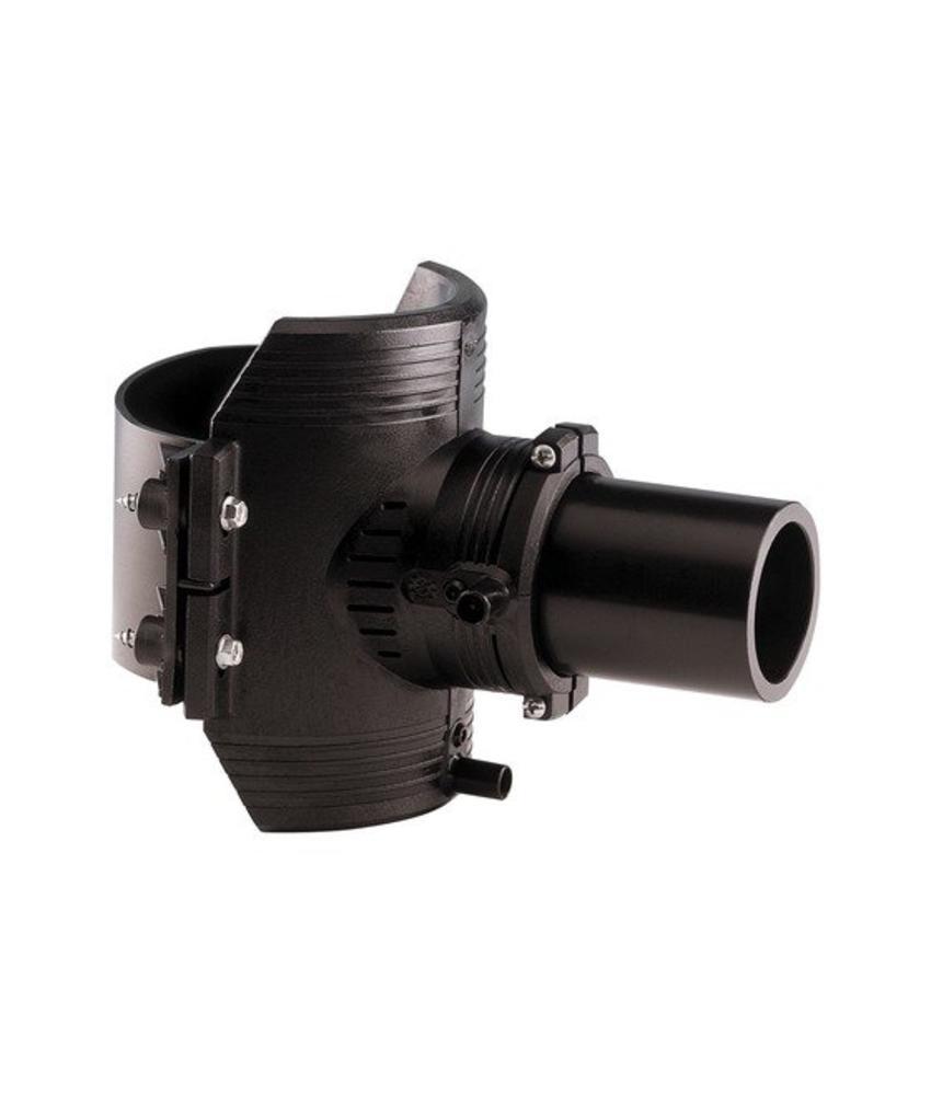 GF ELGEF elektrolas spie-eindzadel 63 mm / 63 mm | PE hulpstuk