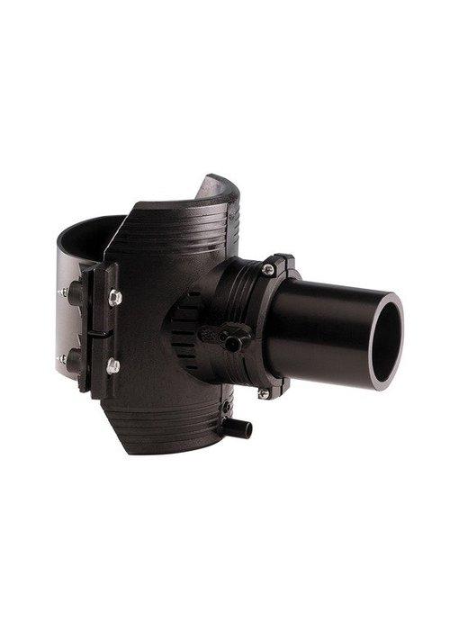 GF ELGEF elektrolas spie-eindzadel 200 mm / 63 mm | PE hulpstuk