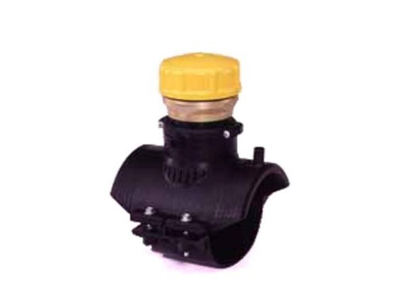 "GF ELGEF elektrolas blaasgatzadel 225 mm / 2½"" | PE hulpstuk"