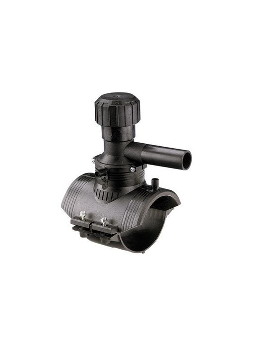 GF ELGEF elektrolas aanboorzadel 360° aftakking 110 / 32 mm