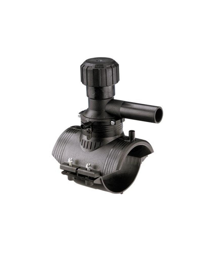 GF ELGEF elektrolas aanboorzadel 360° aftakking 125 / 40 mm