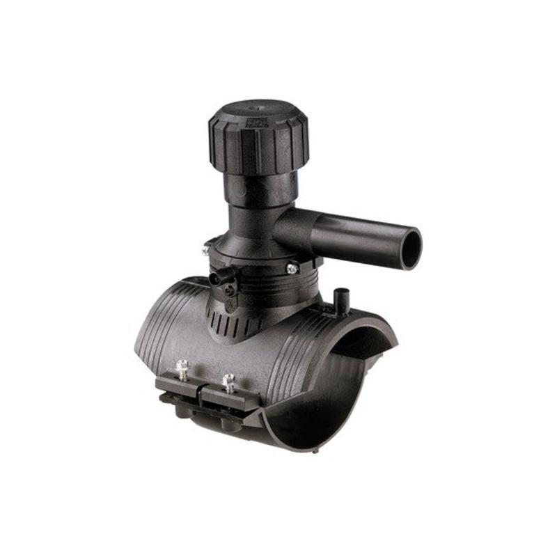 GF ELGEF elektrolas aanboorzadel 360° aftakking 250 / 25 mm
