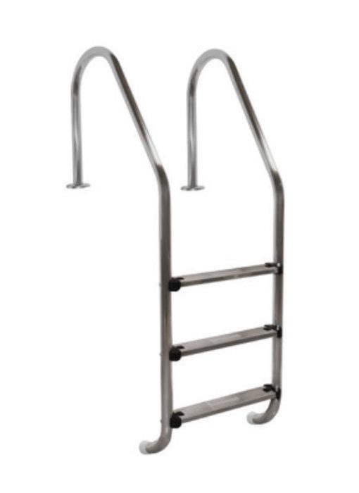 AstralPool Zwembadtrap standaard RVS-316 - 4 treden ladder