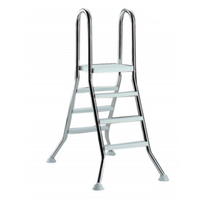 AstralPool Ladder RVS 3 x 3 + platform - bovengronds zwembad