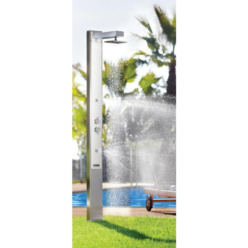 AstralPool Iguazu buitendouche mat RVS-316 - warm/koud water