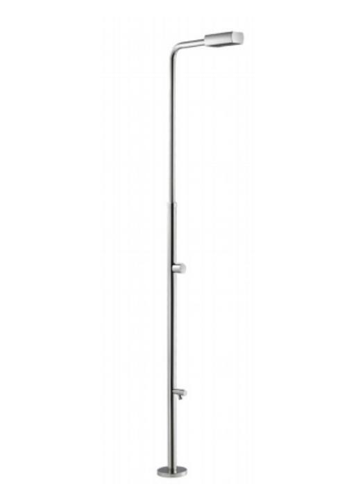 AstralPool Angel buitendouche gepolijst RVS-304 - ⌀43 mm buis met extra kraan