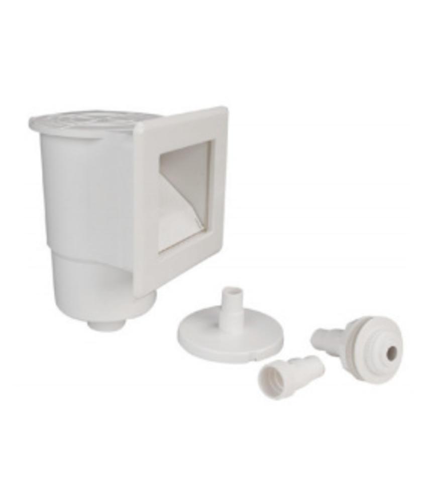 AstralPool ABS mini skimmer met inlaat / verbindingen ⌀32 mm en ⌀38 mm
