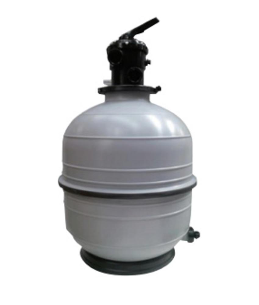 AstralPool Mediterraneo zandfilter ⌀ 600 mm - 9 m³/u met top-aansluiting