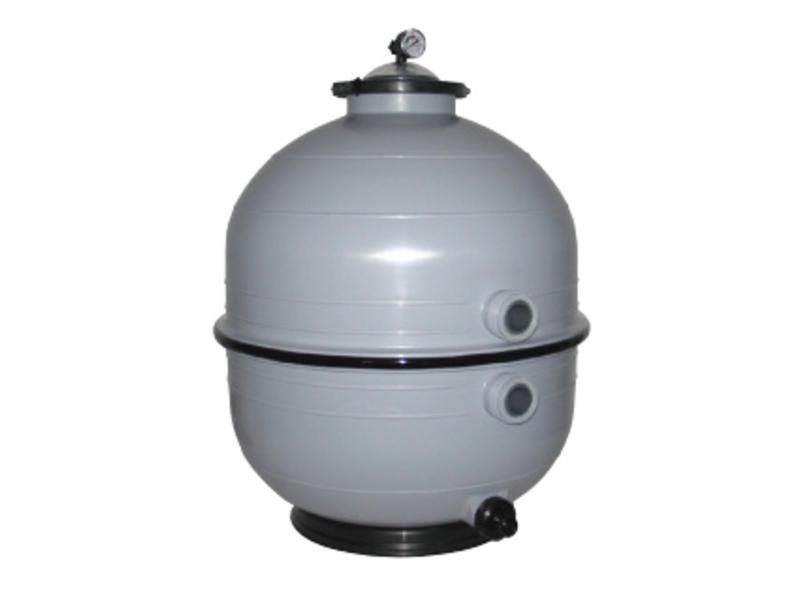 AstralPool Mediterraneo zandfilter ⌀ 600 mm - 14 m³/u met zij-aansluiting