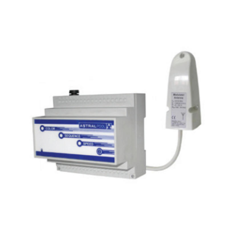 AstralPool LumiPlus RGB modulator met RF antenne