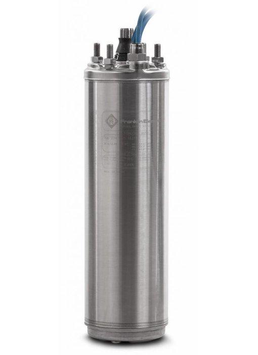 """Franklin 8"""" 75 kW - 100 PK bronpomp motor 400V - RVS 316"""