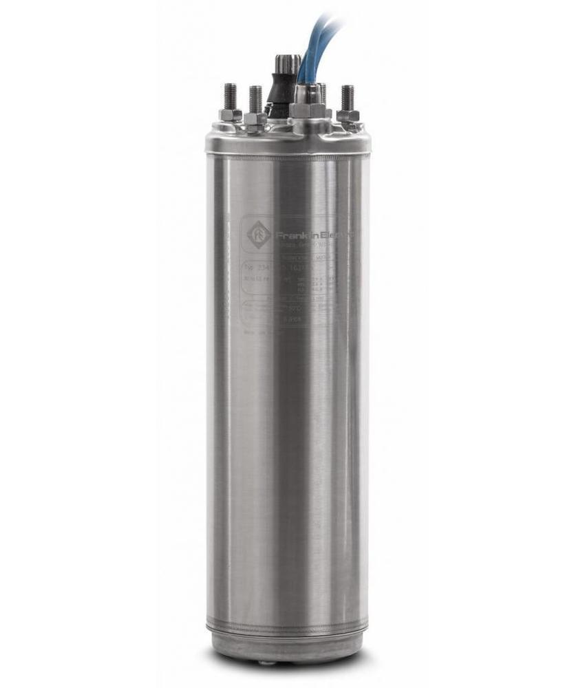 """Franklin 8"""" 150 kW - 200 PK bronpomp motor 400V - RVS 316"""