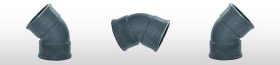 PVC Bocht 45gr, SN8 mof/mof (125 t'm 200mm)