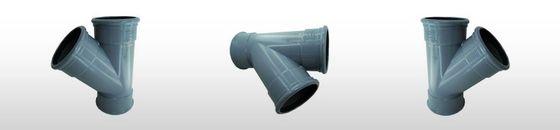 PVC T-stuk 45gr SN8, 3 x mof (110 t'm 400mm)