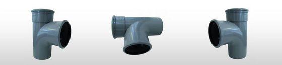PVC T-stuk 88gr SN4, 2x mof/spie (110 t'm 315mm)