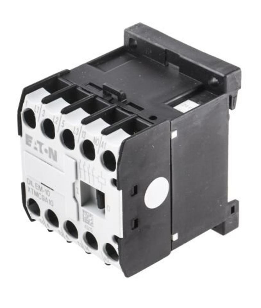 Moeller Start DILEM 3 Pole Contactor, 9 A, 4 kW, 24 V ac Coil