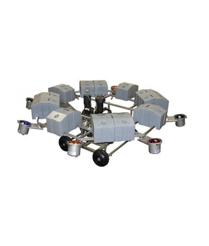 AquaMaster Celestial 25 PK 380 Volt drijvende fontein