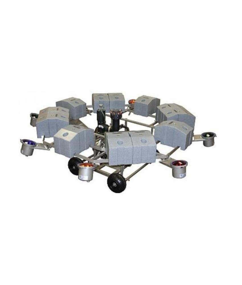AquaMaster Verlichtingsset 4 x 18 watt LED