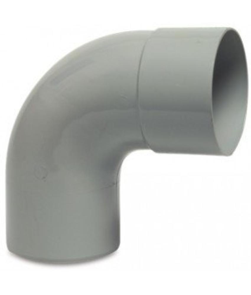 PVC HWA bocht mof / spie 87,5° - 100 mm