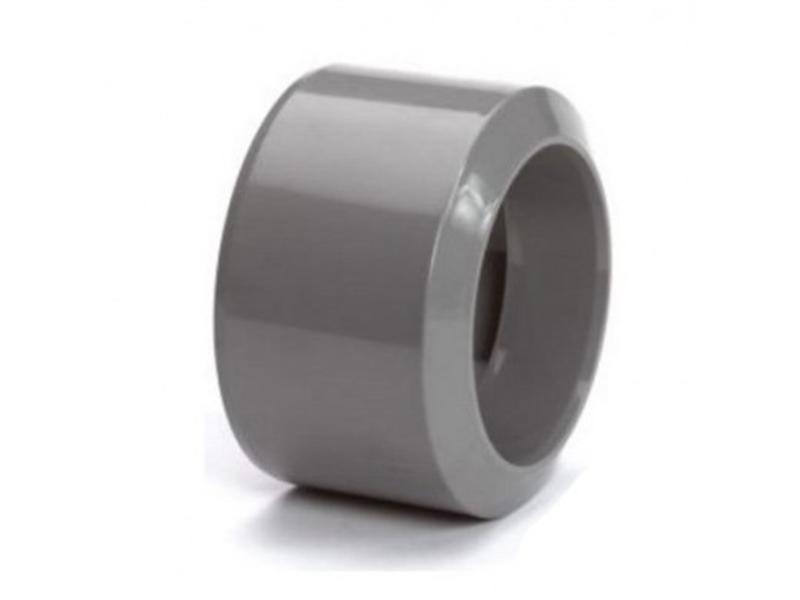 PVC HWA inzet verloopring mof / spie - 110 x 100 mm