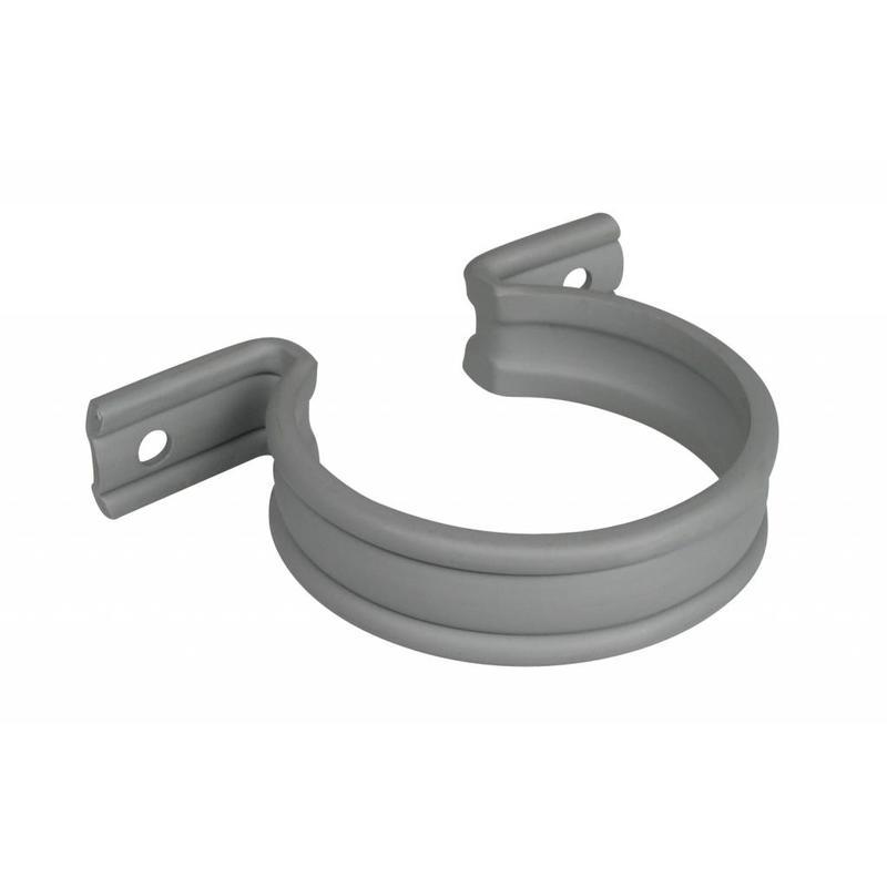 PVC HWA zadel grijs - 32 mm
