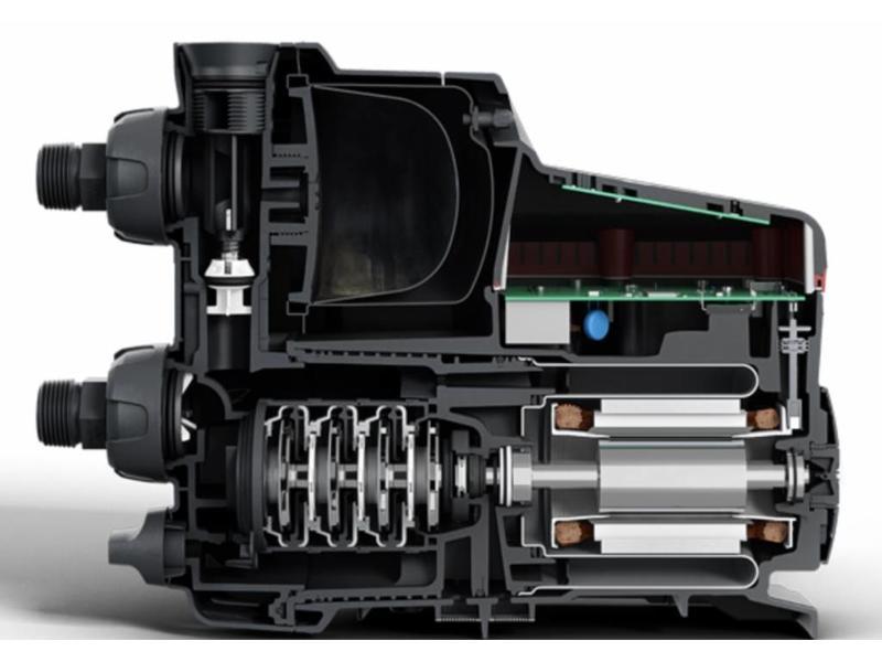 Grundfos SCALA2 hydrofoorpomp met voordrukbeveiliging incl. aansluitset