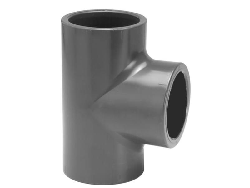 VDL PVC T-Stuk Ø 50 PN16, 90 graden