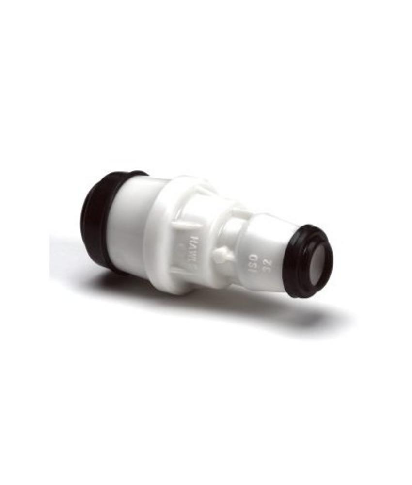 Hawle verloopkoppeling GASTEC - 32 x 25 mm | 2 x steek