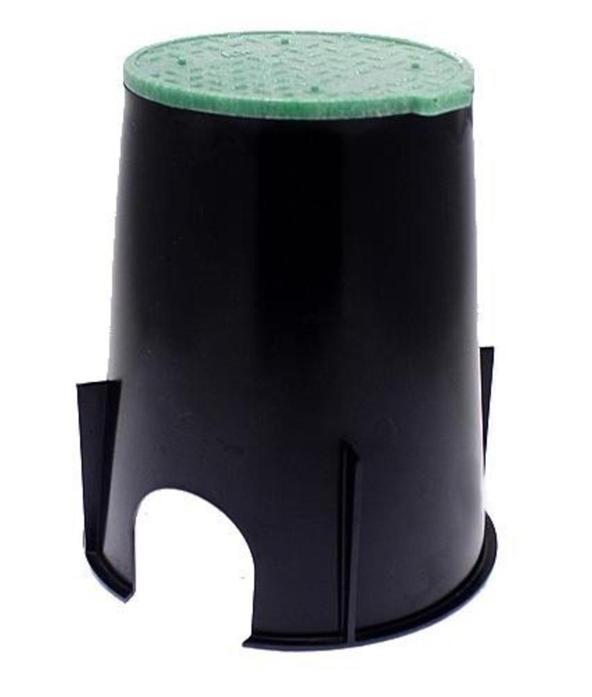 VB-708-6 (PVC) kleppendoos incl. deksel