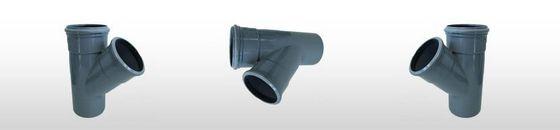 PVC verloop T-stuk 45gr SN4, 2 x mof/spie