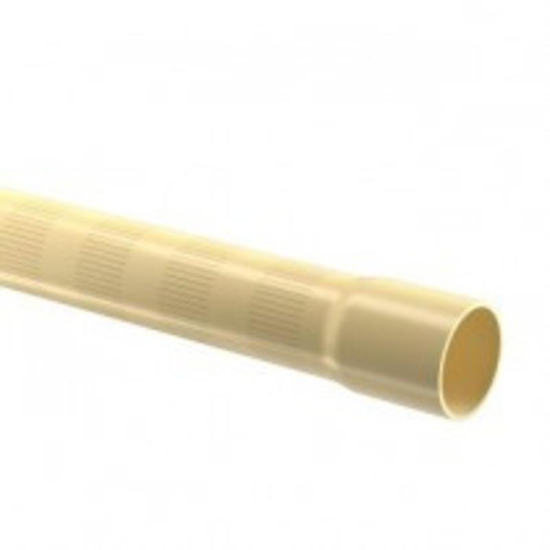 PVC filterbuis Ø90 mm 12,5 bar, 0,5 MM perforatie L = 5 meter