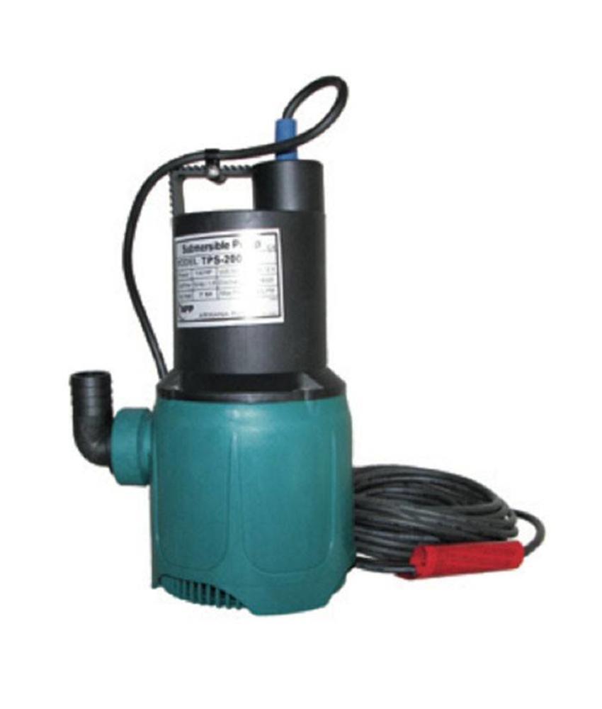 APP dompelpomp TPS 200V 0,19 KW - 8,4M/m3 per uur, 230V inclusief buisvlotter