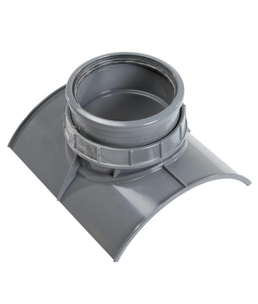 PVC Keilinlaat SN8 KOMO 200 x 125 mm