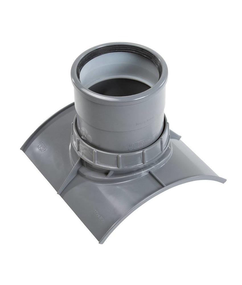 PVC Keilinlaat met zettingsinlaat SN8 KOMO 250 x 125 mm