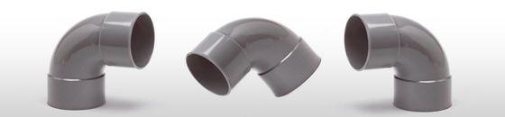 PVC Bocht 88gr, mof/mof - lijmverbinding (32 t/m 200mm)