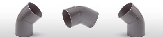 PVC Bocht 45gr, mof/spie - lijmverbinding (32 t/m 160mm)