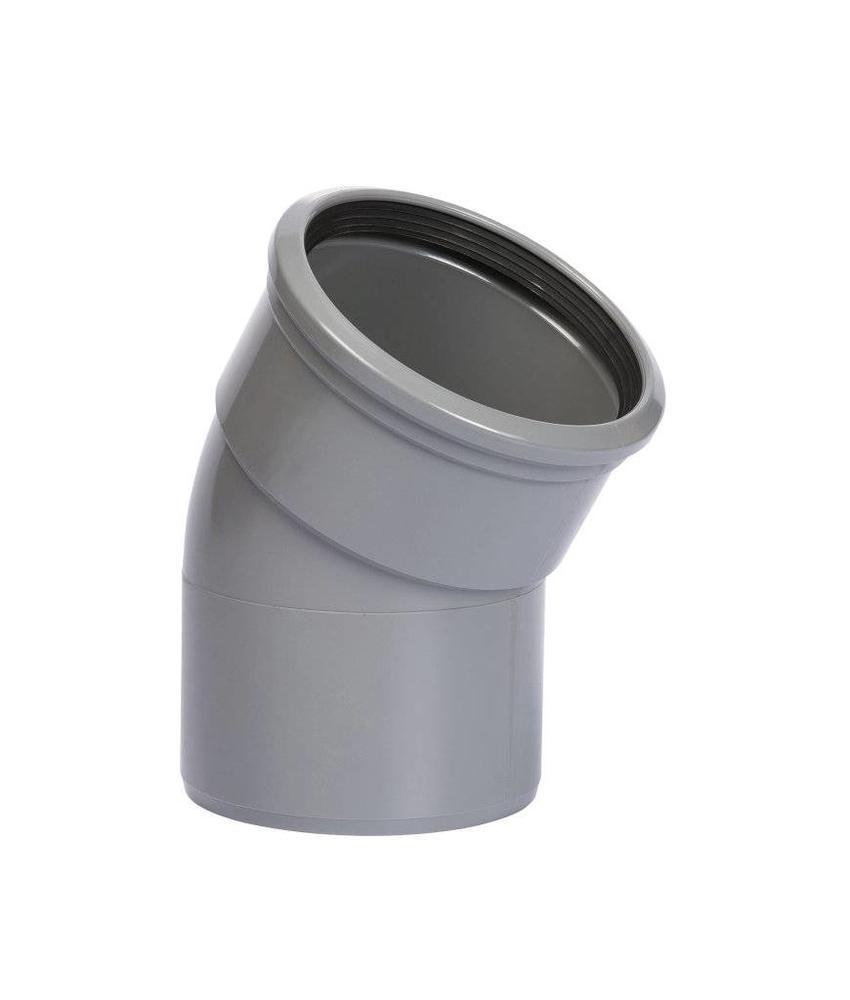 PVC bocht 30° mof/spie SN8 Ø110