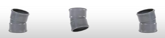 PVC bocht 15° SN8 mof/mof (Ø110 t/m Ø315 )