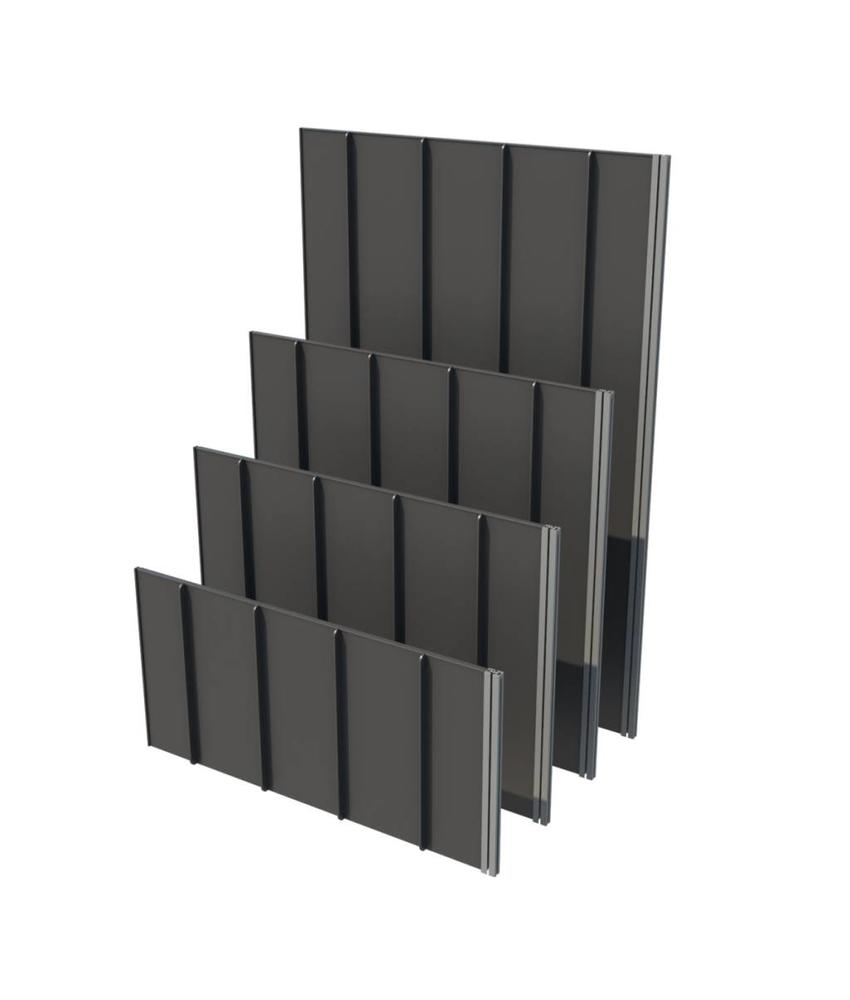 RootBarrier RootPanels Wortelgeleidingsplaten (WGP) wortelgeleidingssysteem lengte 60 cm, hoogte = 45 cm