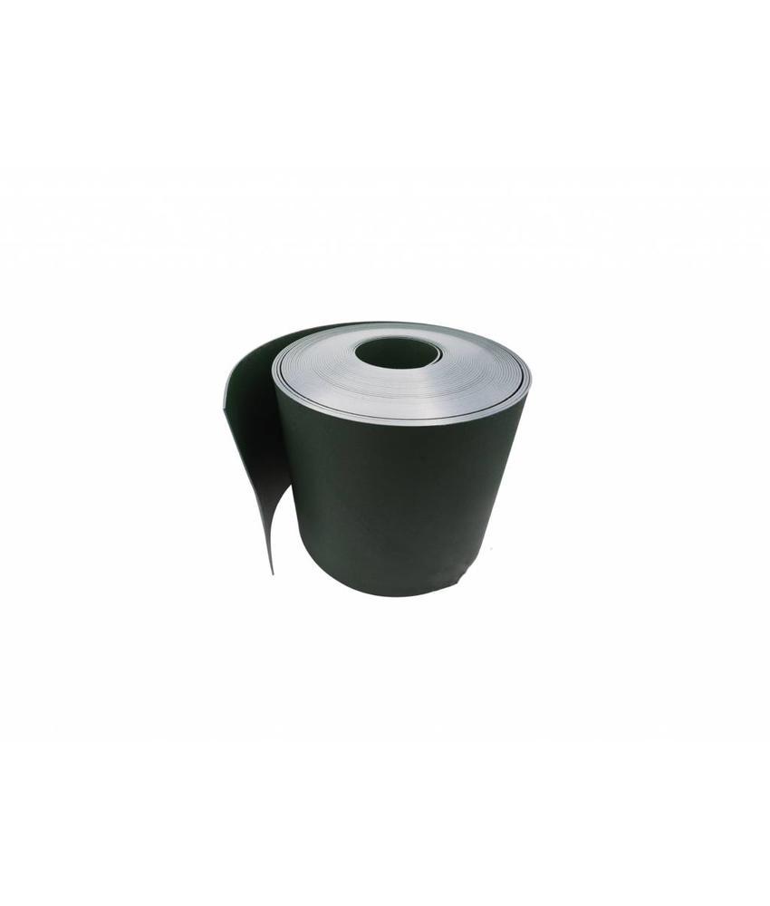 Gietrand zwart HDPE Ø2 mm breedte 30 cm, L = 25 meter