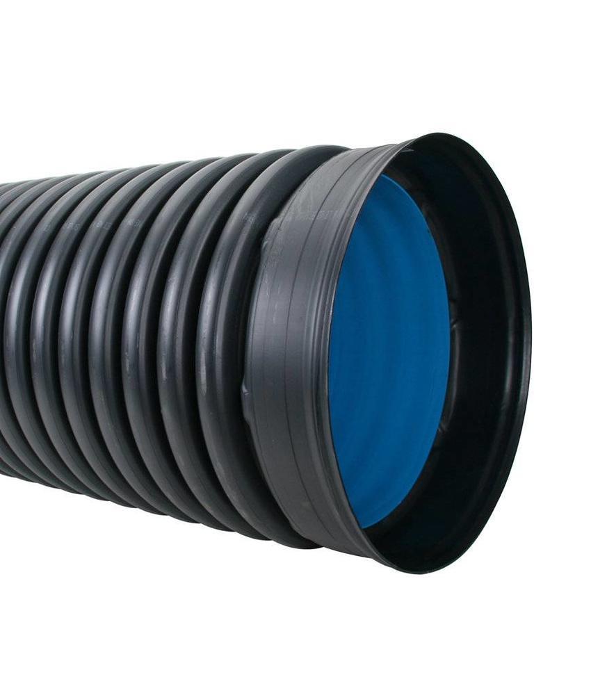 PE duikerbuis SN8 Ø 250 x 218 mm, L=6m