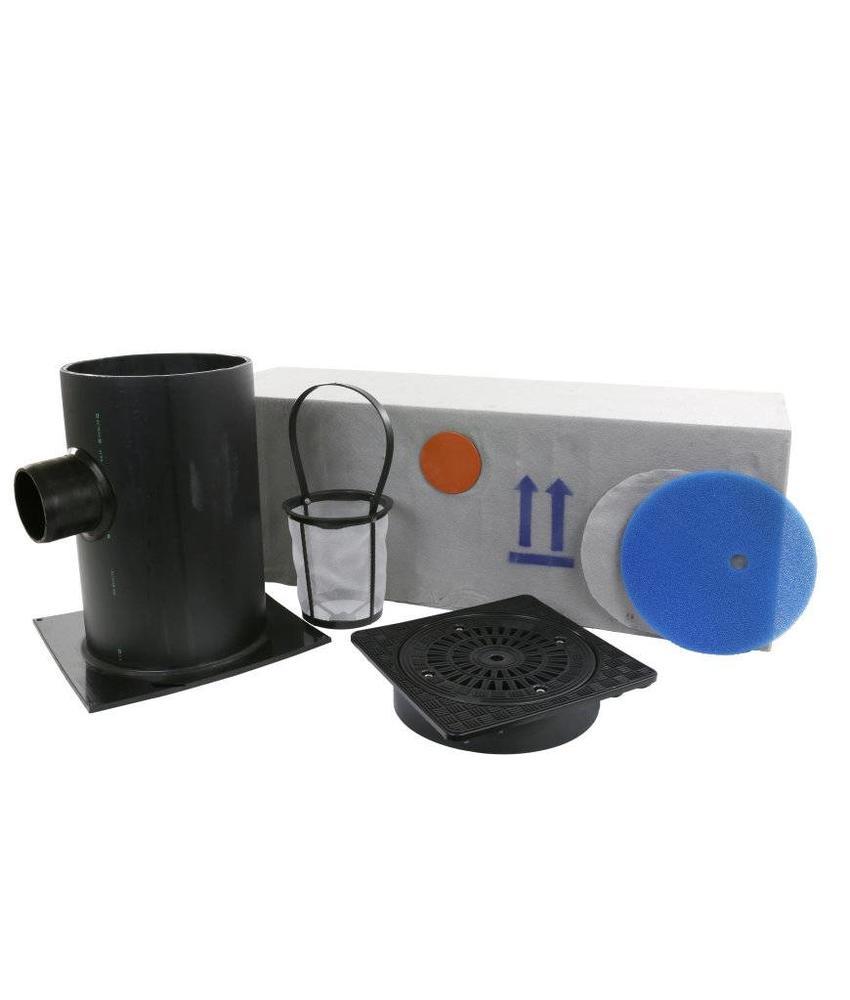 Infiltratieput gietijzerendeksel set 200 liter, klasse A H = 1000 mm