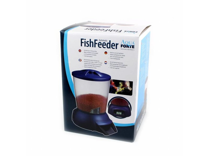 AquaForte automatic fishfeeder | batterijen / 12V