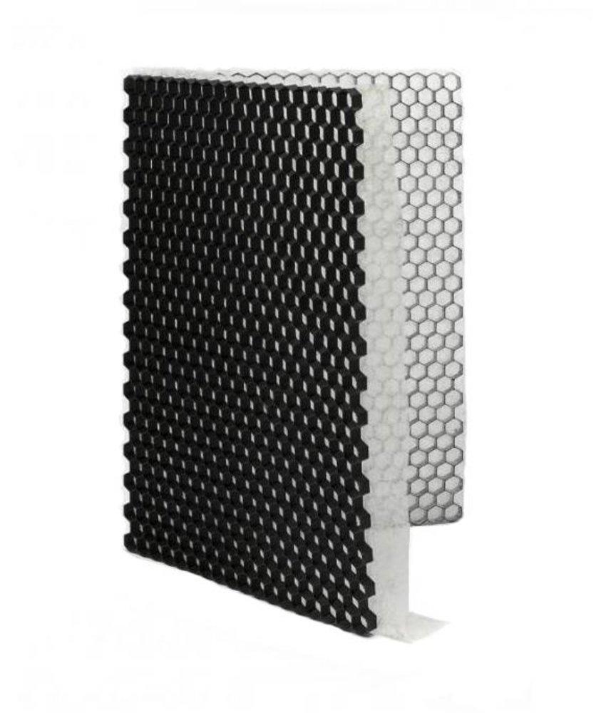 Grindplaat zwart ECCOgravel 160 x 120 x 4 cm