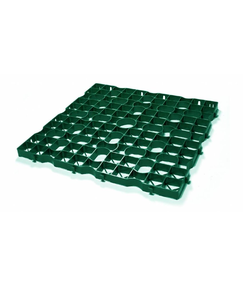 Grastegel groen ECCOdal 80 x 80 x 4 cm | Grasplaat