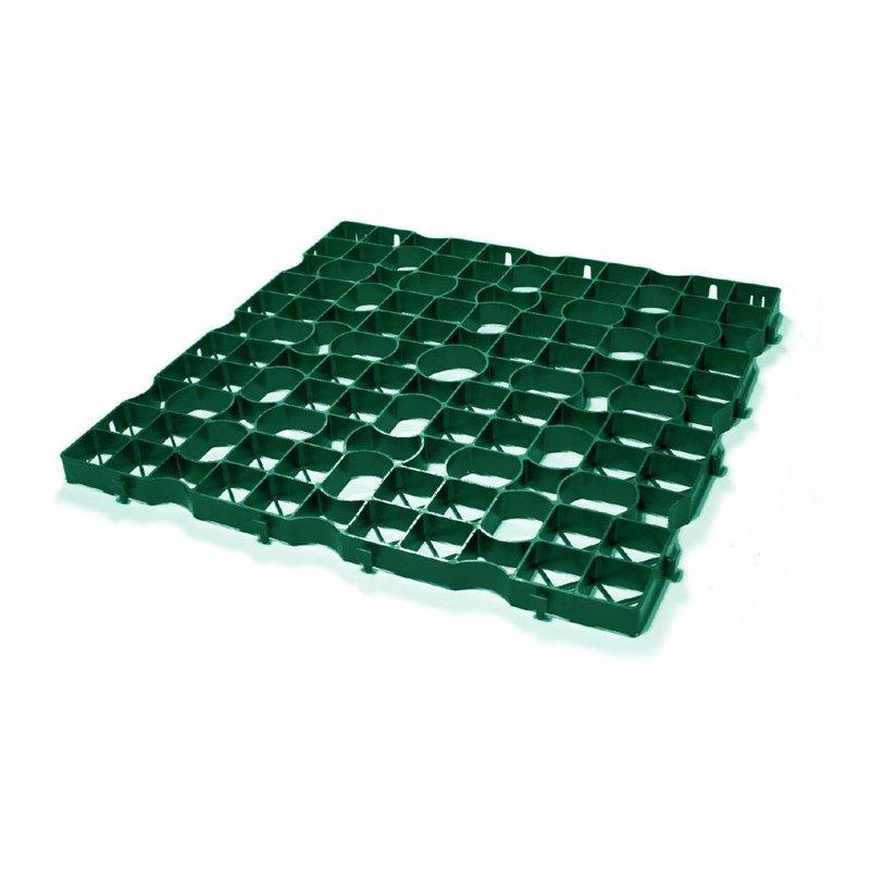 Grastegel groen ECCOdal 80 x 80 x 5 cm | Grasplaat