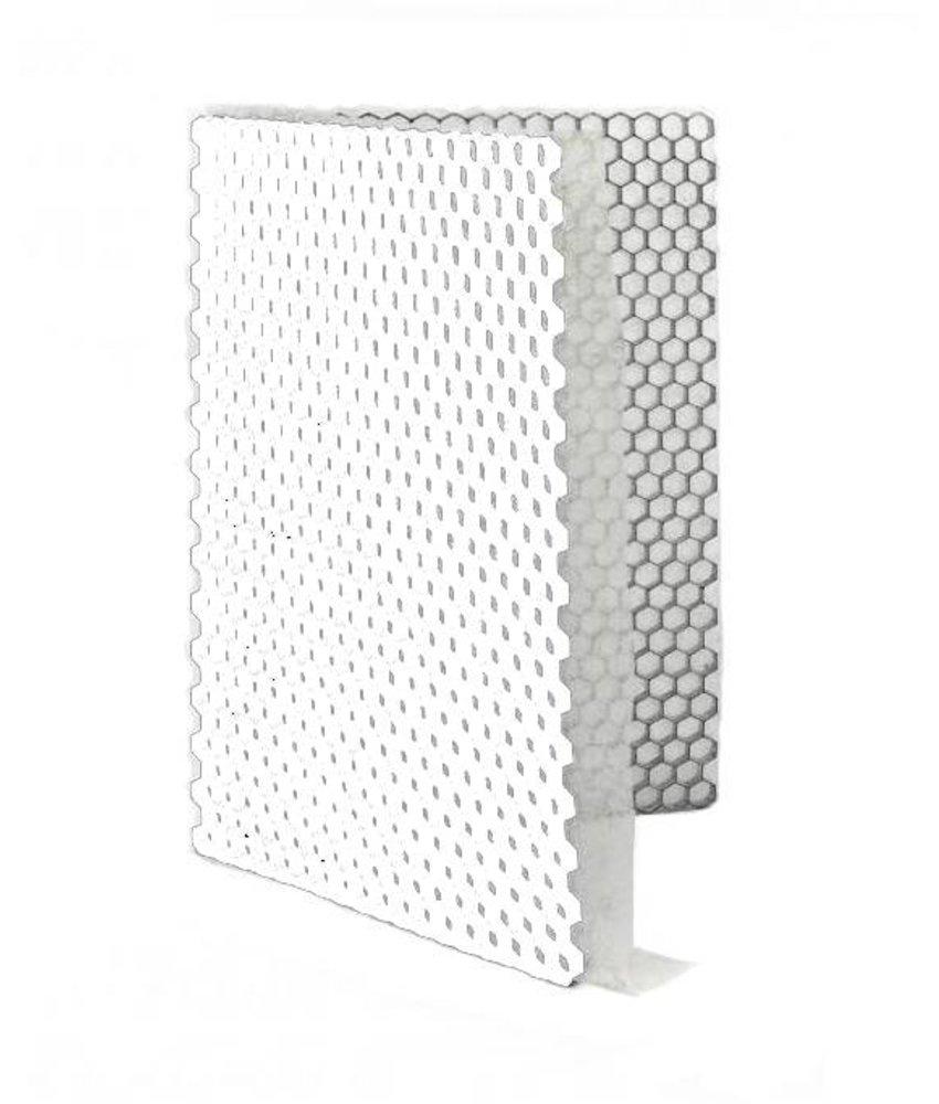 Grindplaat wit ECCOgravel 160 x 120 x 3 cm | Grindplaten